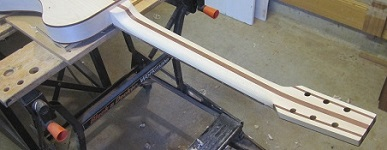 Guitar neck shaping 2