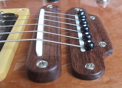 Electric guitar bridge 1