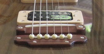 Electric guitar bridge 2
