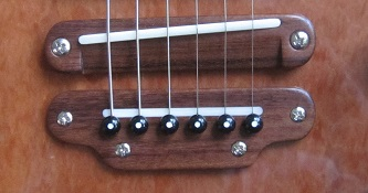 Electric guitar bridge 3