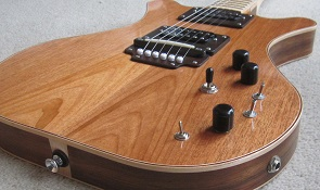 RNS Harrier electric guitar Blackwood 3