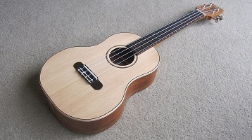 Blackwood ukulele 1